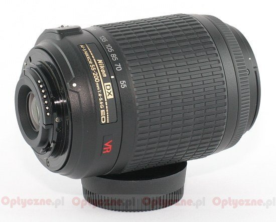 Nikon DX 55-200 VR Lens Pics