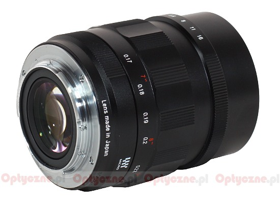 Voigtlander Nokton 25 mm f/0.95 - Build quality
