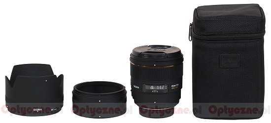 Sigma 85 mm f/1.4 EX DG HSM - Build quality