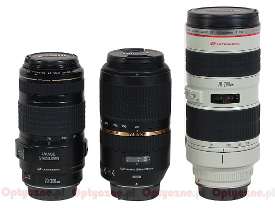 Tamron SP 70-300 mm f/4-5.6 Di VC USD - Build quality and image stabilization