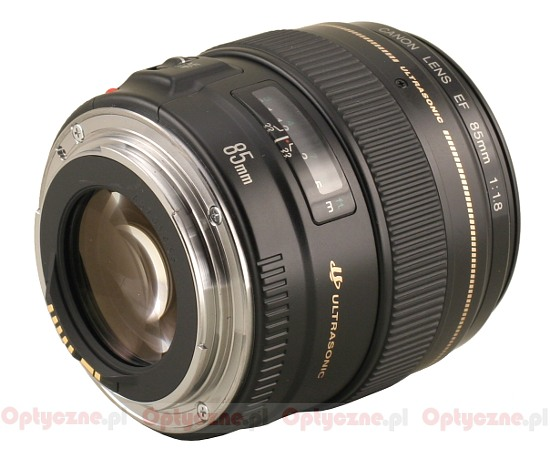 Canon EF 85 mm f/1.8 USM - Build quality