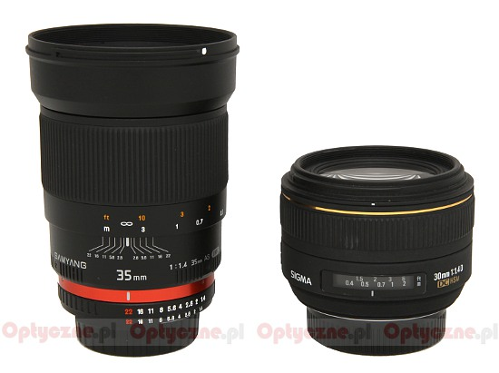 Samyang 35 mm f/1.4 AS UMC  - Build quality