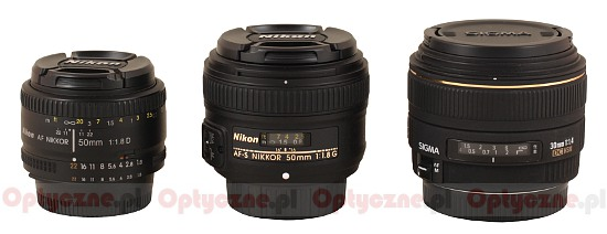Nikon Nikkor AF-S 50 mm f/1.8G - Build quality