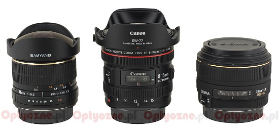 Canon EF 8-15 mm f/4 L Fisheye USM - Build quality