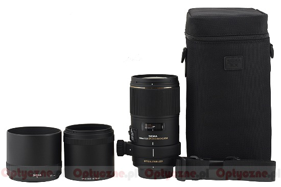 Sigma 150 mm f/2.8 APO EX DG OS HSM Macro - Build quality and image stabilization