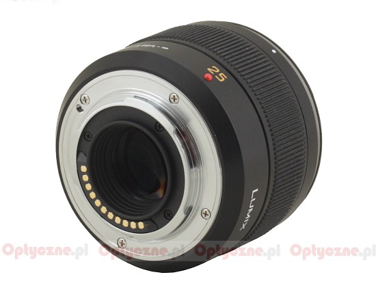Panasonic Leica DG Summilux 25 mm f/1.4 ASPH. - Build quality