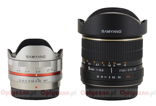 Samyang 7.5 mm f/3.5 UMC Fish-eye MFT - Build quality