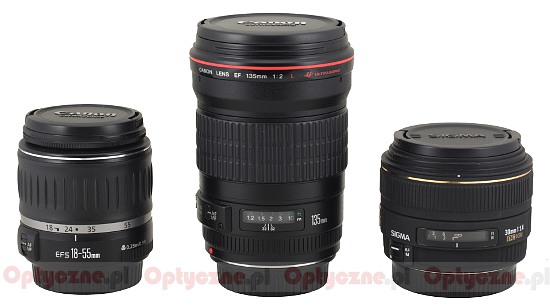 Canon EF 135 mm f/2L USM - Build quality