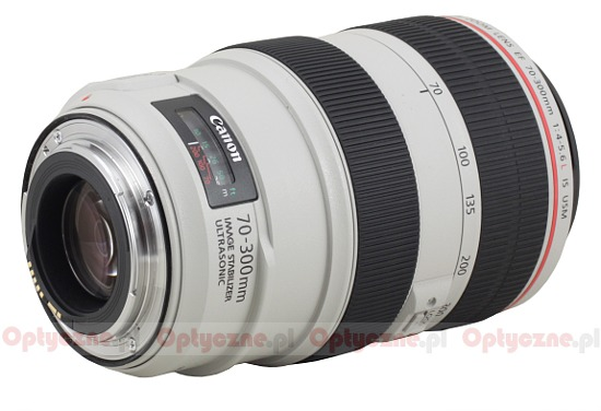 Canon EF 70-300 mm f/4-5.6 L IS USM - Build quality and image stabilization