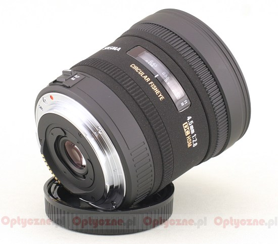 Sigma 4.5 mm f/2.8 EX DC CIRCULAR FISHEYE HSM - Build quality