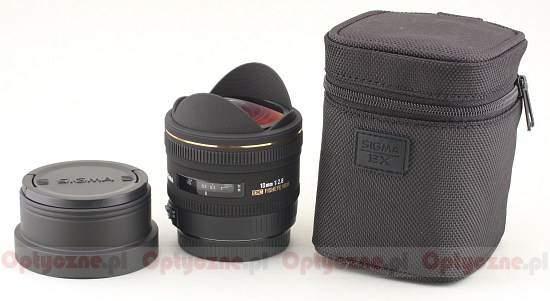 Sigma  10 mm f/2.8 EX DC FISHEYE HSM - Build quality