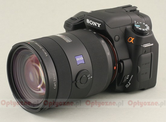 Sony Carl Zeiss Vario Sonnar 24-70 mm f/2.8 T* SSM - Introduction