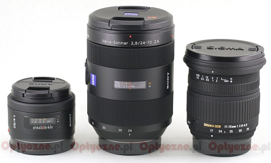 Sony Carl Zeiss Vario Sonnar 24-70 mm f/2.8 T* SSM - Build quality