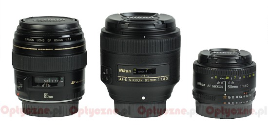 Nikon Nikkor AF-S 85 mm f/1.8G  - Build quality