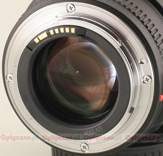 Canon EF 35 mm f/1.4L USM - Build quality
