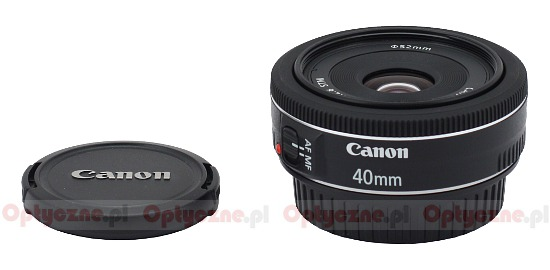 Canon EF 40 mm f/2.8 STM - Build quality