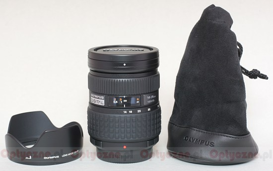 Olympus Zuiko Digital 14-54 mm f/2.8-3.5 - Build quality