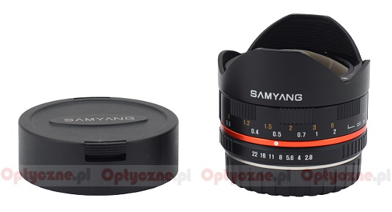 Samyang 8 mm f/2.8 UMC Fisheye - Build quality