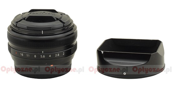 Fujifilm Fujinon XF 18 mm f/2 R - Build quality
