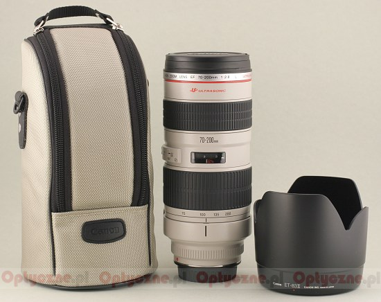Canon EF 70-200 mm f/2.8L USM - Build quality