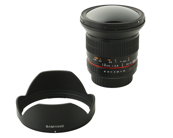 Samyang 10 mm f/2.8 ED AS NCS CS - Introduction