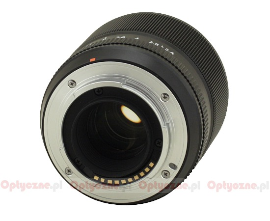 Fujifilm Fujinon XF 60 mm f/2.4 R Macro - Build quality