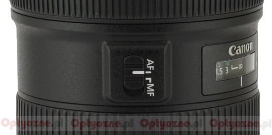 Canon EF 24-70 mm f/2.8L II USM - Build quality