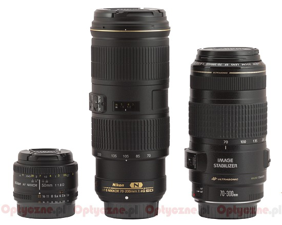 Nikon Nikkor AF-S 70-200 mm f/4.0G ED VR - Build quality and image stabilization