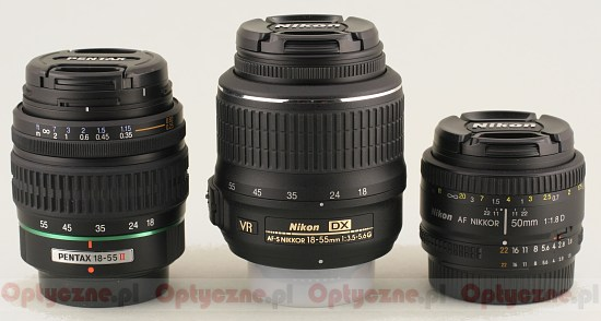 Nikon Nikkor AF-S DX 18-55 mm f/3.5-5.6G VR - Build quality and image stabilization