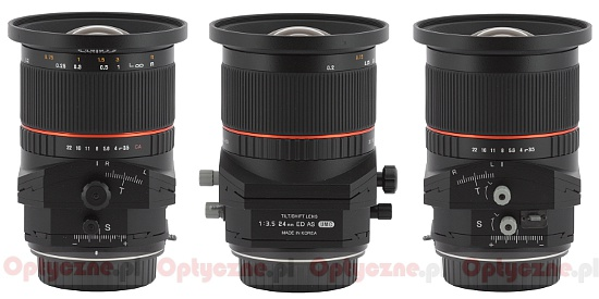 Samyang Tilt-Shift 24mm to be released in mid-May