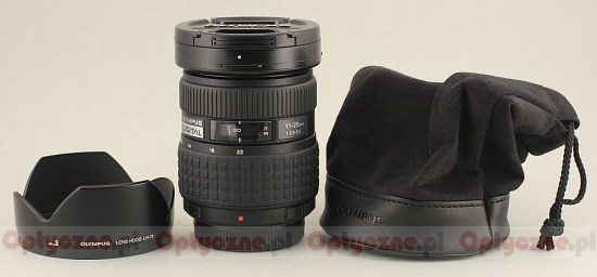 Olympus Zuiko Digital 11-22 mm f/2.8-3.5 - Build quality