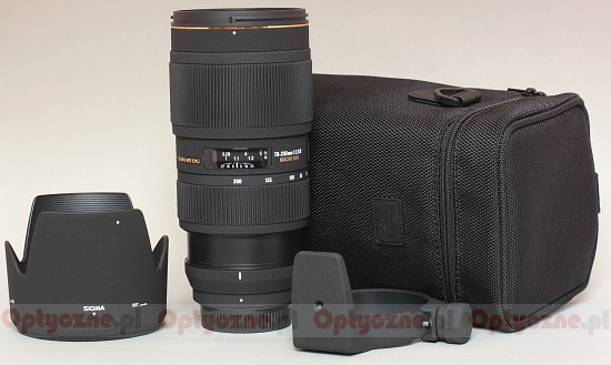 Sigma 70-200 mm f/2.8 II EX APO DG Macro HSM - Build quality