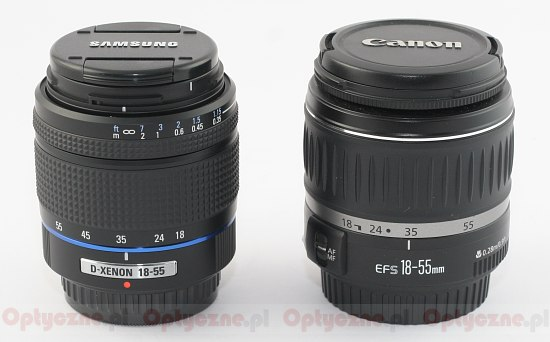 Canon EF-S 18-55 mm f/3 5-5 6 II review - Build quality
