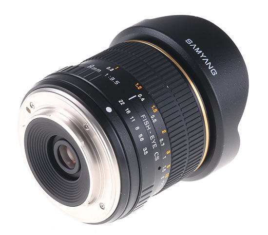 Samyang 8 mm fish-eye and 85 mm f/1.4 with Olympus 4/3 mount
